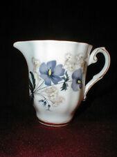 Royal Grafton English Fine Bone China PURPLE PANSY Mini Creamer