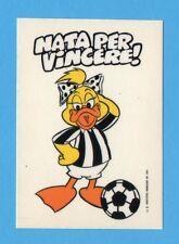 JUVE NELLA LEGGENDA-Ed.MASTER 91-Figurina/ADESIVO n.54- NATA PER VINCERE !-NEW