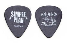 Simple Plan Jeff Stinco Black Guitar Pick - 2011 Tour