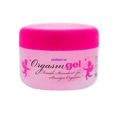 """""""ORGASM GEL"""" Gel Stimulant Intensifiant Lubrifiant Orgasme Féminin 50ml"""