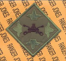 US Army 4th Infantry Division Armor Gunnery c/e pocket patch