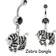 New Selection Fixed & Dangle Belly Bars Navel Piercing CHOOSE DESIGN UK SELLER