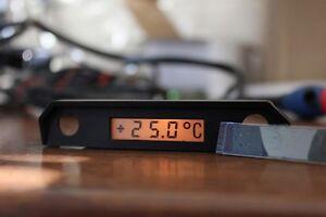 Mercedes LCD Reparatur Display für W124 W126 W201 Außentemperaturanzeige ATA OTG