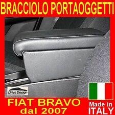 FIAT BRAVO NEW - bracciolo con portaoggetti per-facciamo tappeti auto -qualità @