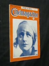 SEPT 9, 1921 FRENCH CINEMAGAZINE Uncut Complete 30 pgs