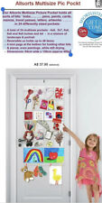 NEW Picture Pockets Hanging Photo Art Gallery in 24 Pockets Photo Frame Display