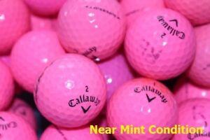 40 Callaway Supersoft Pink Mint/Near Mint Condition GolfBalls