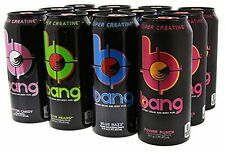 VPX BANG ENERGY DRINK VARIETY PACK CASE OF 12 CANS