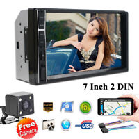 7 Inch Touch Screen Car MP5 MP3 Player FM Radio + Rear Camera MIRROR LINK AUX