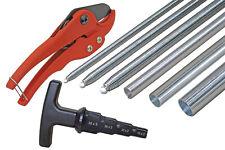 Werkzeug Set für Alu-Verbundrohr 8-teilig 16x2, 20x2, 26x3, 32x3 mm