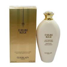 GUERLAIN L'HEURE BLEUE PERFUMED BODY LOTION 200 ML/6.7 FL.OZ. NIB-G62210