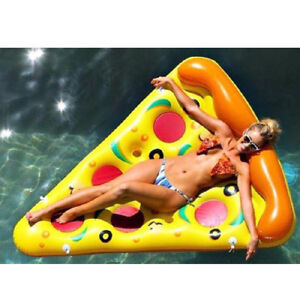 Inflatable Giant Pool Kids Toy Duck Flamingo Pizza Lips Watermelon Pineapple f5