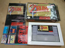 Zelda: Link to the Past Super Nintendo * SNES CIB * Complete in Box *