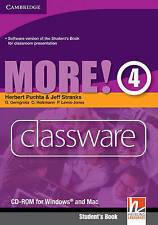 More! Level 4 Classware CD-ROM, Lewis-Jones, Peter, Holzmann, Christian, Gerngro