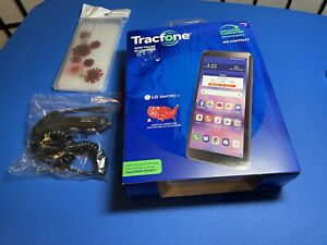 """NEW in Box Tracfone LG JOURNEY Android Smartphone (16GB) - Black-5.45"""" screen"""