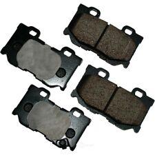 Disc Brake Pad Set-ProACT Ultra Premium Ceramic Pads Rear Akebono ACT1347