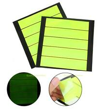 Outdoor PVC Reflective Stickers Baby Safety Reflector Decal for Bag Bikes Green