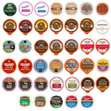 Flavored Coffee Cups For Keurig K cup Brewers Variety Pack Sampler, 40ct