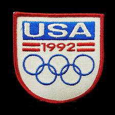 1992 USA OLYMPIC GAMES Original NOS Embroidered USA Team Patch