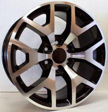 """22"""" Black & Machine Honeycomb Wheels Rims Chevy Silverado Tahoe Suburban LTZ"""