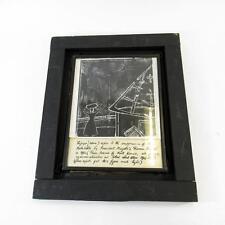 Black & White Original Lino Print Art–Suppression of the Matabele DR Vollmar