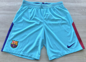 Short Barcelona 2017-18 Away Player Issue Kitroom Original