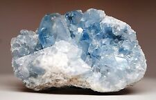 958 Gram Blue Celestite Geode Crystal Gemstone Specimen From Madagascar Rry25