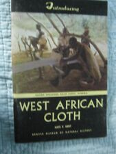 Kate P. Kent-West African Cloth
