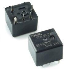 2pc NEC Miniature 12VDC Heavy Duty Auto Relay ET1-B3M1S