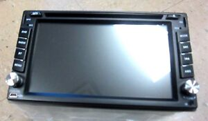 HIZPO DOUBLE DIN NAVIGATION WITCH FRAME & WIRES BRAND NEW IN BOX