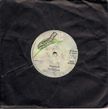 "Television Foxhole UK 45 7"" single +Picture Sleeve +Careful"