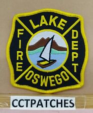LAKE OSWEGO, OREGON FIRE DEPARTMENT PATCH OR