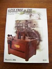 2006 MARCH 11 LIVE FREE OR DIE ANTIQUE TOOL AUCTION CATALOG INDIANAPOLIS