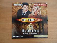 Dr Who The Stone Rose. Part 2.Radio Times/BBC Audio.Promo CD