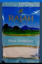 2 × 100g RAJAH MEAT TENDERISER 200g - TOP QUALITY
