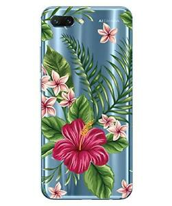 Huawei Honor 10 Flexible Shell And Resistant with Pattern (Bouquet Exotic)