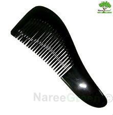 Handmade Nature black buffalo Horn Comb No Static Lady Hair Comb Lady / Mens Com