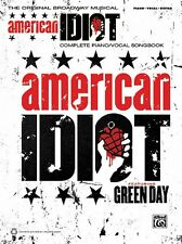 American Idiot The Musical Sheet Music Vocal Selections Book NEW 000322334