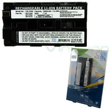 Batteria alta qualità videocamera F550 X-Longer pr SONY DCR-TRV935K TV900 VX2000