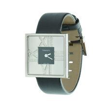Tiffany & Co. 18K White Gold Diamond Atlas Cocktail Watch