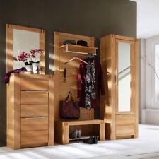 Garderoben-Set 5-tlg Massiv-Holz Flurgarderobe Garderobenschrank Flurbank 85cm