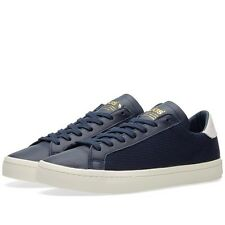 Adidas Originals Court Vantage Navy White Women Sneakers Size EUR 36.5