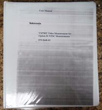 Tektronix VM700T User Manual