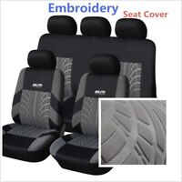 Deluxe Edition Embroidery Washable Car Sedan Seat Cover Cushion Auto Accessories