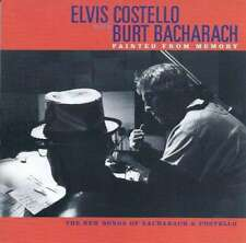 Elvis Costello with Burt Bacharach - Painted From Memo CD -
