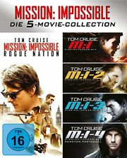 The WMission Impossible 1-5 Box (Blu-Ray) - NEU