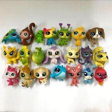 Original LPS Random 5pcs Littlest Pet Shop animals dog cat Mini Figure Girl toy