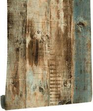Rustic Wood Grain Peel and Stick Wallpaper Vinyl Film Self Adhesive for Bedroom