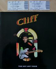 Cliff Richard - 'The Hit List'  Programme - Wembley Arena, London