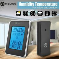 LCD Wireless Weather Station Indoor Outdoor Forecast Sensor Clock Thermometer